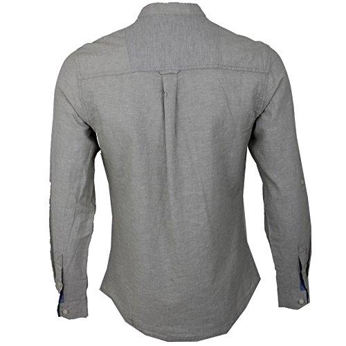 Threadbare Herren Freizeit-Hemd * Einheitsgröße Stone