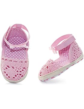 Hongfei Ladylike Style Knit Lace Zapatos de niña