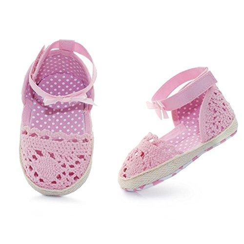 Hongfei Ladylike Style Knit Lace Baby Mädchen Schuhe -