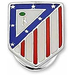 Pin escudo Atlético de Madrid Plata de ley esmaltado [7054] - Modelo: 20-061