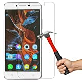 M.G.R - Lenovo Vibe K5 Plus / Lenovo Vibe K5 (3D Touch Compatible - Tempered Glass) Screen Protector With (9H Hardness) (Premium Crystal Clarity) (Scratch-Resistant)