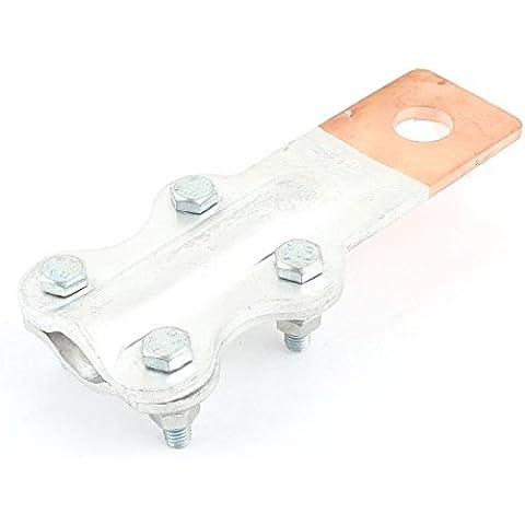 Anillo 15mm Abrazadera de unión 800A Perno JTL cobre-aluminio para M12 Stud