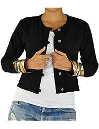 virblatt chaqueta étnica como moda hippie chic y ropa alternativa claleco estilo boho chic para mujeres como vestidos étnicos - Durchgedreht