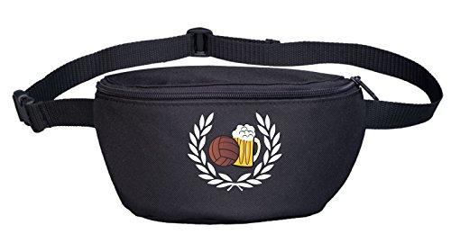 lorbeerkranz-fussball-bier-bauchtasche-bestickt-schwarz