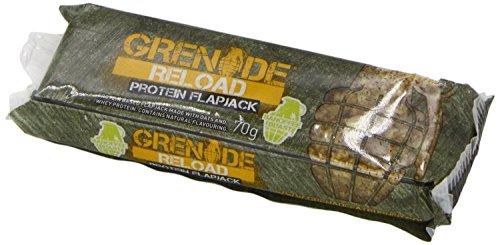 Grenade Reload Protein Flapjacks, 12 x 70 g Bars