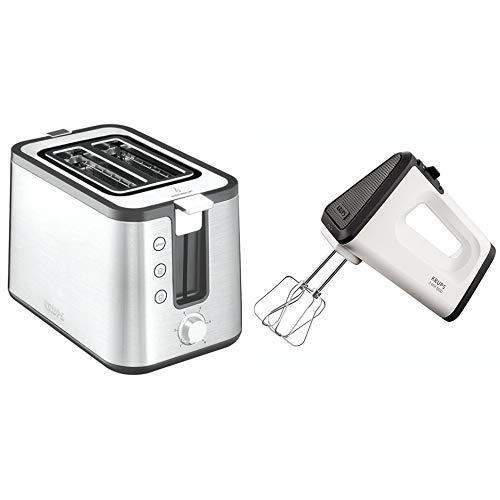 Krups KH442D10 Control Line Premium Toaster mit 6...