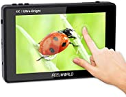 FEELWORLD LUT7 7 Inch DSLR Camera Field Monitor Video Monitor 3D LUT Touchscreen FHD Resolution with 4K HDMI I