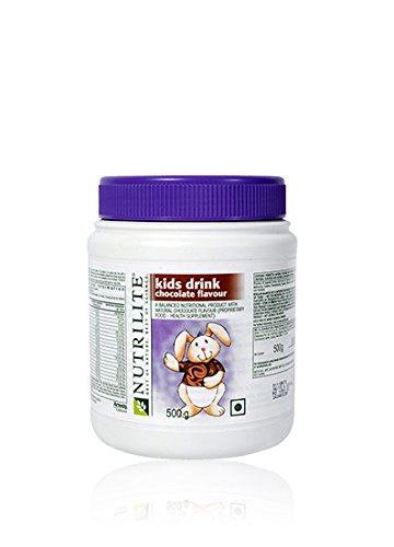 Amway Nutrilite Kids Drink - Chocolate (500 Gms)  available at amazon for Rs.894