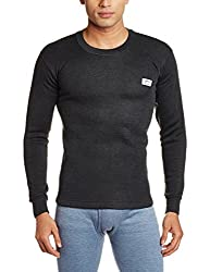 Rupa Thermocot Mens Synthetic Thermal Top (8903978492162_VOLCANO R-N F-S -100_Black)