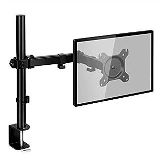 SIMBR Monitor Tischhalterung Halterung mit Max VESA 100x100mm für Zwei 13