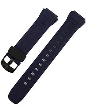 Casio Ersatzband Uhrenarmband Resin Dunkelblau WV-58E-2AVD, WV-58E-2AVW