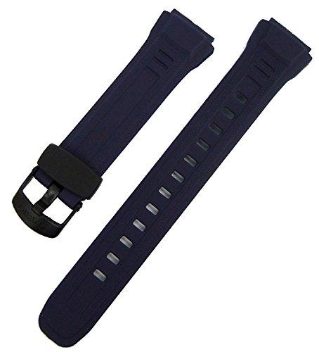 Casio Ersatzband Uhrenarmband Resin Dunkelblau WV-58E-2AVD, WV-58E-2AVW -