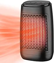 Portable Cooling Fan with Heating Function, Strong Wind Blow,Electric Fan Space Heater Safe & Quiet Cerami