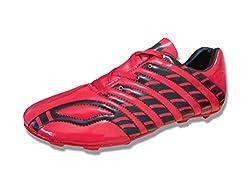 Port Spider Black Football Shoes (size 11 ind/uk)