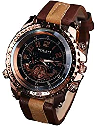 SamMoSon Relojes Hombre Acero Inoxidable Analogicos Automaticos, Relojes De Lujo para Hombres Reloj De Pulsera