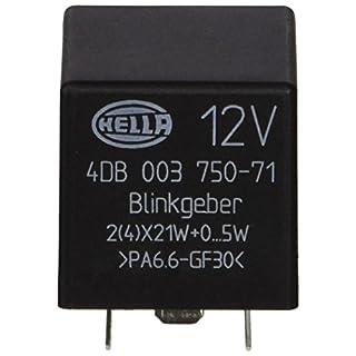 HELLA 4DB 003 750-711 Blinkgeber, 12V, elektronisch
