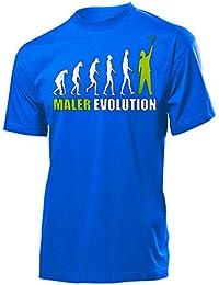 MALER EVOLUTION - Cooles Fun T-Shirt Herren S-XXL
