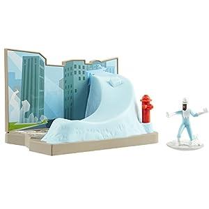 Incredibles 2 74937 Frozone - Figura Decorativa (Incluye Accesorios)