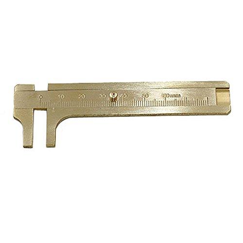 BakeLIN Mini Pocket Caliper Edelstahl Digital Vernier Dial Bremssattel Gauge Mikrometer 80 mm - Digital Dial Caliper