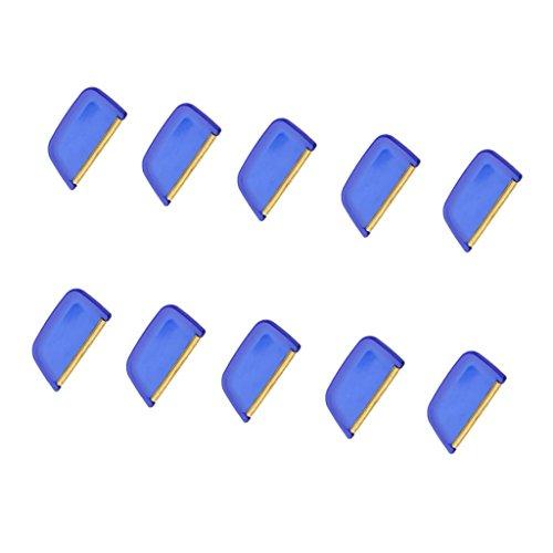 Sharplace Lot de 10x Lint Remover Pull Cachemire Laine Peigne
