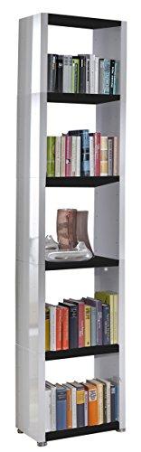 Regalsystem Raumteiler Bücherregal Standregal READY 51 Weiß Schwarz 50 x 232 ...