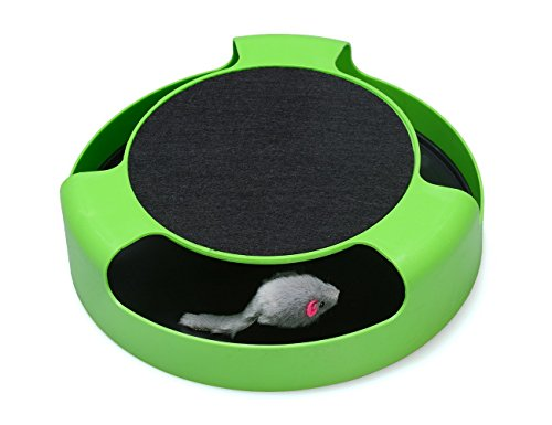 Newin Star Juguetes interactivos para gato ratón, un...