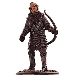 Lord Of The Rings - Figura de Plomo El Señor de los Anillos. Lord of the Rings Collection Nº 49 Orc Archer At Pelennor… 8