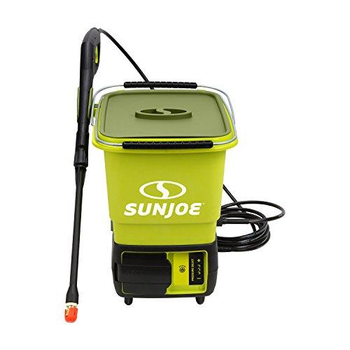 Sun Joe UK-SPX6000C-XR iON Hochdruckreiniger, kabellos, 1160 PSI · 40V · 5,0 Ah