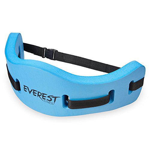 EVEREST FITNESS water aerobics belt for water sports and swim-training, secure swimming aid for up to 100kg in body weight, universally adjustable, made from high-quality foam | with 2 years satisfaction guarantee | water resistance belt , aqua jogging be