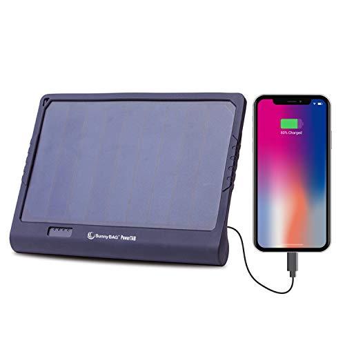 SunnyBAG POWERTAB Solar-Ladegerät mit starker 22.200mWh Kapazität Akku - Premium Solar Ladegerät mit Powerbank für Smartphone, Tablet, Notebook etc.