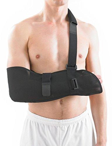 Neo G Cabestrillo de brazo transpirable - Calidad de Grado Médico. Tejido ligero, transpirable. Ayuda a dar apoyo, elevar el brazo, inmovilizar el hombro, rehabilitación. Tamaño Universal - Unisex