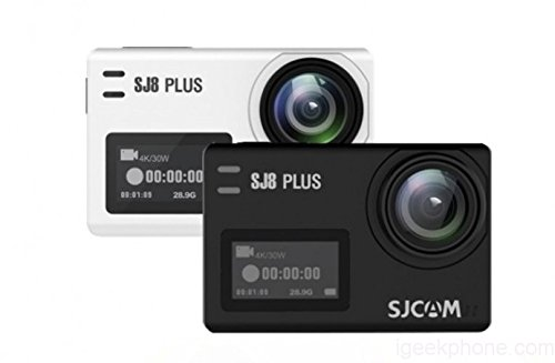 "OVIO SJCAM SJ8 Pro/Plus/Air WiFi Sports Action Camera 2.33"" Retina IPS Display(Black)"