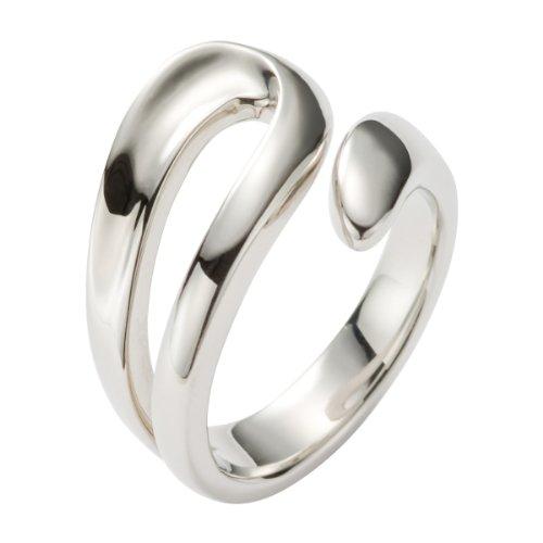 FOSSIL  JF85155040 Damen Ring Edelstahl 17 (Max Steel Charaktere)