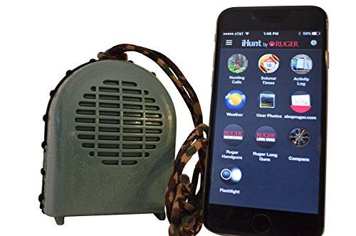 Preisvergleich Produktbild Extreme Dimension Wildlife - ihunt XSB Spiel Call - Bluetooth App & Lautsprecher - 700 Anrufe - Elektronische Spiel - Jagd - ihunt