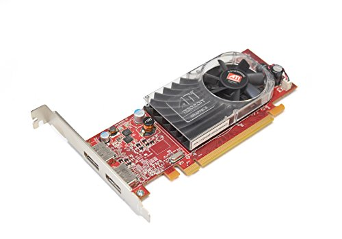 Aquamoon Trading New W459D Original OEM ATI Radeon HD 3470Video Grafikkarte High Profile Single-Slot Performance 256MB DDR22x Display Ports Schnittstelle PCI-Express 7123035100G