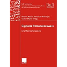 Digitaler Personalausweis (DuD-Fachbeiträge)