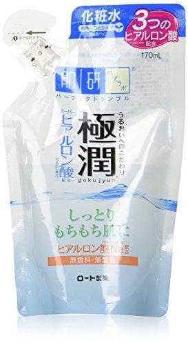 HADA LABO GOKUJYUN HEALURONIC LOTION REFILL 170ML
