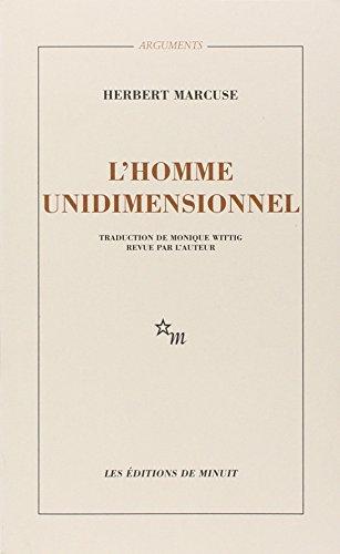 L'HOMME UNIDIMENSIONNEL