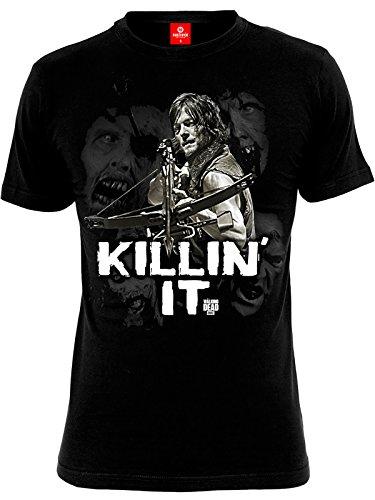 The Walking Dead Daryl Dixon - Killin' it T-Shirt schwarz 5XL