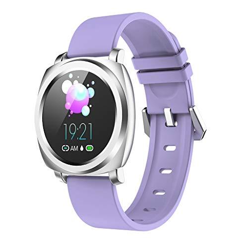 Feinny Smart Bracelet Uhren Armband / 2019 R02 Mode Sport Fitness Schritte Blutdruck Puls Tracker Kalorienverbrauch Smart Watch/Schwarz