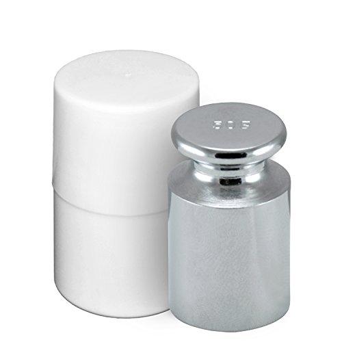 Smart Weigh CW-100g Verchromt 50g C-Stahl OIML Klasse M1: ± 3 mg Kalibriergewicht mit Chrom-Finish
