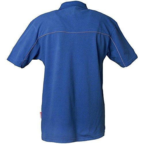 PLANAM - Polo-Shirt - Das starke Outfit für die Sommerfrische. kornblau/zink