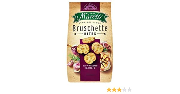Bruschetta maretti g slow roasted garlic amazon grocery