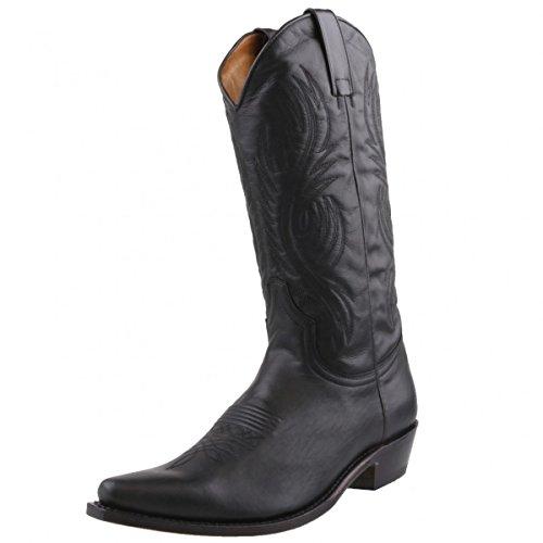Sendra Cowboystiefel 2605 Schwarz, Schuhgröße:EUR 46