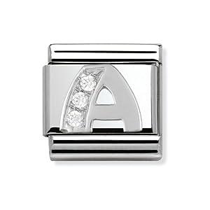 Composable Classic Stahl Cub zirc und 925 Silber A – Art.: 330301_01