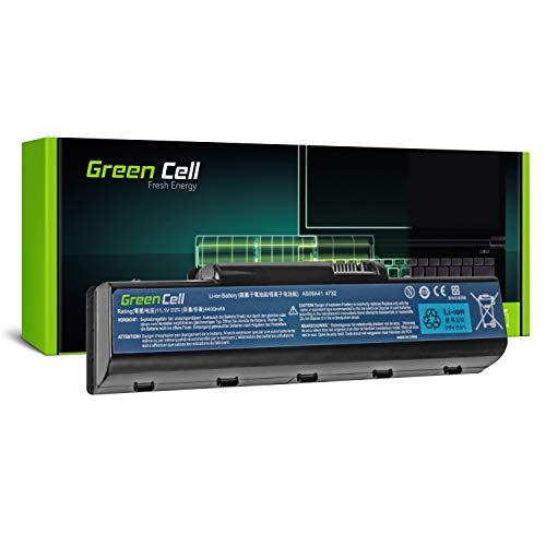 GC® Laptop Akku für Packard Bell EasyNote TJ65-AU-144FR TJ65-CU-005 TJ65-DT-001 (4400mAh 11.1V Schwarz)