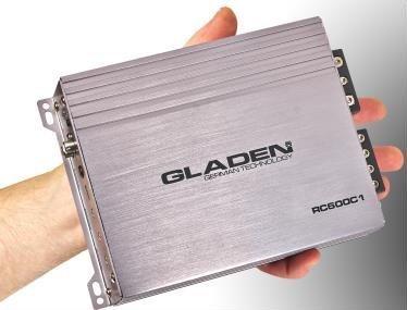 Gladen RC 600C1 1-Kanal Mono Verstärker digital 1 X 560 Watt RMS an 2 Ohm RC600C1