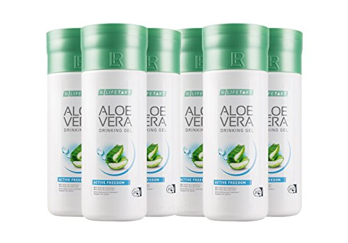 6 x 1 Liter Aloe Vera Drinking Gel Freedom