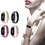 LWPCP Wasserdichte Sport Bluetooth Smart Armband Uhr Pulsmesser Für Frauen