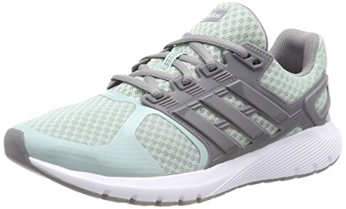 adidas Damen Duramo 8 Laufschuhe, Grün (Ash Green S18/Grey Three F17/Grey Three F17), 38 EU